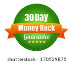 thirty day money back guarantee   Shutterstock .eps vector #170529875