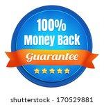 money back guarantee badge | Shutterstock .eps vector #170529881