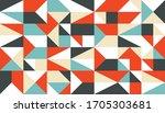 geometric background in... | Shutterstock .eps vector #1705303681