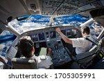 Cockpit Of The Modern Passenger ...