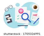 medical healthcare research... | Shutterstock .eps vector #1705326991