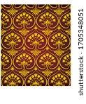 seamless texture  pattern ... | Shutterstock .eps vector #1705348051
