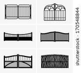 gates | Shutterstock .eps vector #170548844