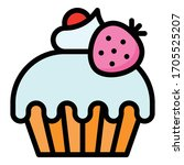Cupcake Or Muffin Vector...