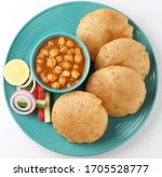 Indian Dish Spicy Chick Peas...