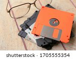 Close Up Of The Diskette For...