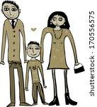 happy family | Shutterstock . vector #170556575