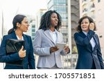 female business team with...   Shutterstock . vector #1705571851