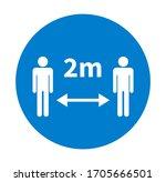 keep a safe distance....   Shutterstock .eps vector #1705666501