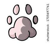 Cute Cartoon Cat Pink And Grey...