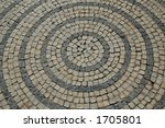 Detail Of A Street Path With...