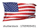 american flag waving in the... | Shutterstock . vector #1705905451