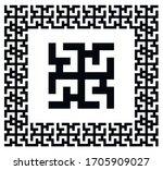 meander  menderes  ancient... | Shutterstock .eps vector #1705909027