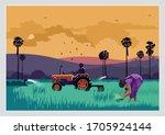 illustration of indian... | Shutterstock .eps vector #1705924144