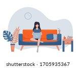 vector illustration in a flat...   Shutterstock .eps vector #1705935367