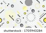 trendy seamless memphis style... | Shutterstock .eps vector #1705943284
