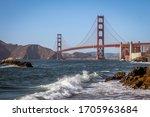 Landscape Of The Golden Gate...