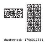 baroque background seamless... | Shutterstock .eps vector #1706011861