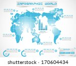 interface  template human ... | Shutterstock .eps vector #170604434