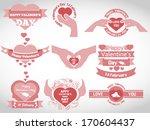 interface  template human ... | Shutterstock .eps vector #170604437