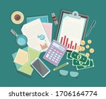 set of banners backgrounds for... | Shutterstock .eps vector #1706164774