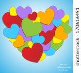 rainbow love   Shutterstock .eps vector #170616491