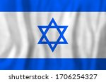 travel concept with israel flag ...   Shutterstock . vector #1706254327