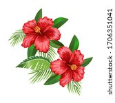 Tropical Floral Vector...