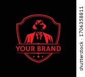 mafia logo emblems with...