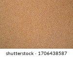 Small photo of Cork Bulletin Board Surface Texture. Empty Blank Brown Wood Corkboard.