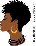 Afro Woman  Black Girl  African ...