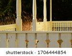 Veranda On Pillars. This...