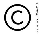 Copyright Icon Vector...