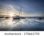 Boats In Poole Harbour At...
