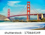 golden gate  san francisco ...   Shutterstock . vector #170664149
