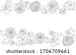 horizontal pattern with...   Shutterstock .eps vector #1706709661