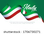 italy patriotic concept with... | Shutterstock .eps vector #1706730271