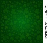 Clovers Background For Happy S...