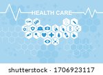 healthcare and medical...   Shutterstock .eps vector #1706923117