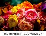 Bouquet Of Fresh Roses  Flower...