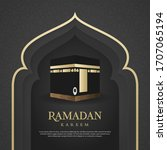 ramadan kareem islamic...   Shutterstock .eps vector #1707065194