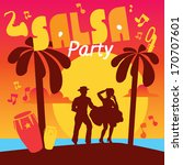 Salsa Dancing Poster For The...