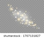 glowing light effect... | Shutterstock .eps vector #1707131827