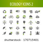 ecology icons 2. | Shutterstock .eps vector #170715401