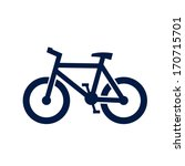 bicycle icon | Shutterstock .eps vector #170715701