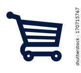 shopping cart icon   Shutterstock .eps vector #170715767