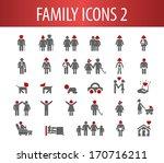 family icons 2. | Shutterstock .eps vector #170716211