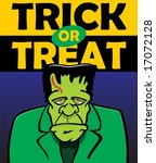 trick or treat with...   Shutterstock . vector #17072128