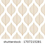 elegant seamless wallpaper... | Shutterstock .eps vector #1707215281