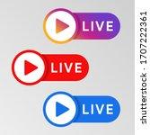 social media live badge....
